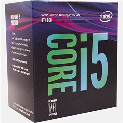 produkt-foto van 'Intel Core-i5-8400-2,8g, cpu-fan, ddr4-8gb & Asrock h310cm-hdv'