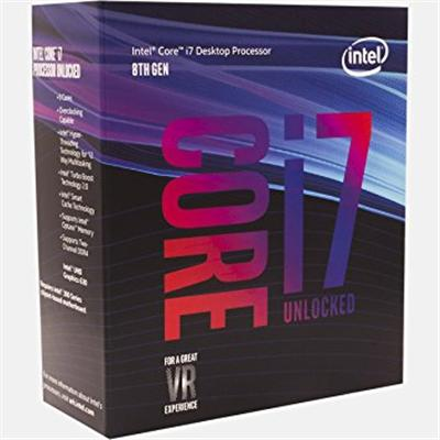 produkt-foto van 'Intel Core-i7-8700k-3,7g, cpu-fan, ddr4-8gb & Asrock h310m-hdv'