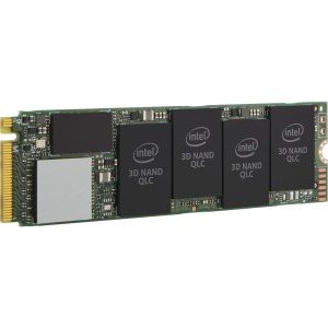 produkt-foto van 'Intel 660p ssd - 1tb, m.2, Read=1.800 MB/s, Write=1.800 MB/s, 80mm'