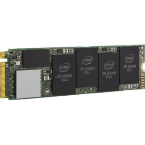 produkt-foto van 'Intel 660p ssd - 512gb, m.2, Read=1.800 MB/s, Write=1.800 MB/s, 80mm'