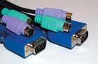 produkt-foto van 'Switch-box kabelset - vga (m) + 2x ps/2 (m) -> vga (m) + 2x ps/2 (m), lengte 5m'