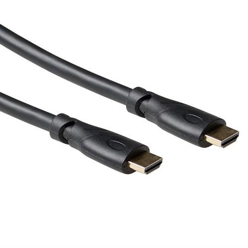 produkt-foto van 'HDMI kabel (a - man) -> (a - man), 10m, zwart'