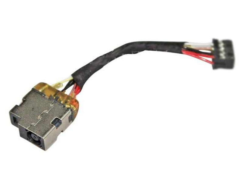produkt-foto van 'Laptop DC Jack - Voedingsplug, voor HP laptops, vervangende code: 763699-001'