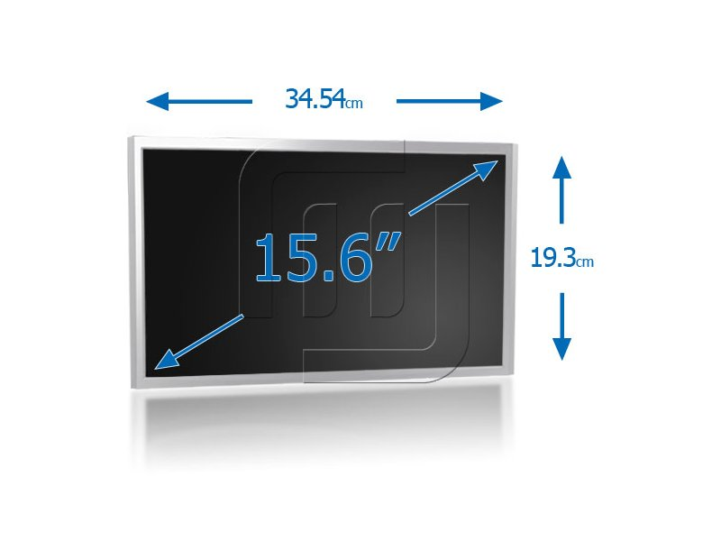 "produkt-foto van 'Laptop beeldscherm - LED 15,6"" glossy, 40-pins, 1366x768, excl. kabels'"