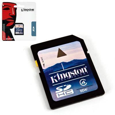 produkt-foto van 'Secure Digital HC kaart (kingston 16gb - full-size- cl4)'