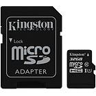 produkt-foto van 'Secure Digital HC kaart - class 10, kingston 32gb'