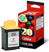 produkt-foto van 'Lexmark 20 - 15m0120, kleur, 3x 7ml'