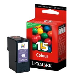 produkt-foto van 'Lexmark 15 - 18c2110e, 3-kleuren, ong. 150 pagina's'