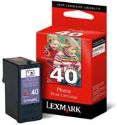 produkt-foto van 'Lexmark 40 - 15m0640, zwart'