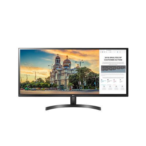 "produkt-foto van 'LG beeldscherm - 34"", IPS, Full HD = 2560x1080, hdmi+vga, zwart'"