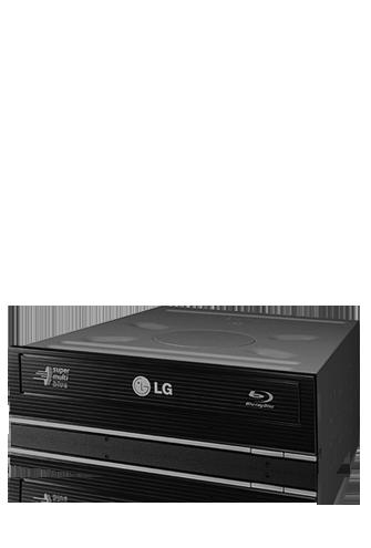 produkt-foto van 'LG Blu-Ray branders-brander (s-ata - zwart - oem incl. soft'