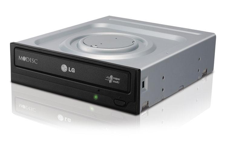 produkt-foto van 'LG DVD-brander (s-ata - 22x - zwart - oem)'