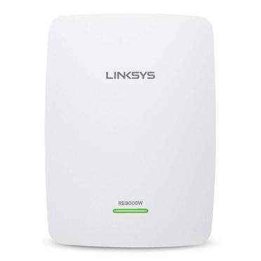 produkt-foto van 'Linksys Wireless Range Extender - re3000w - 300-n, wit'