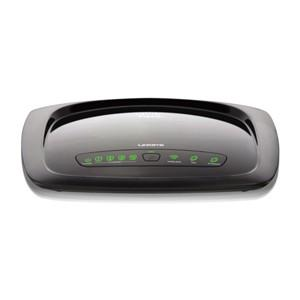 produkt-foto van 'Linksys Wireless AnnexB Router (wag120n - adsl/isdn - wifi)'