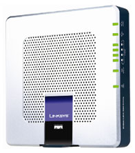 produkt-foto van 'Linksys Wireless ADSL Annex-B Router (wifi - 11g - isdn)'