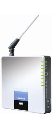 produkt-foto van 'Linksys ADSL Annex-A Router & Speedbooster (WiFi - PSTN)'