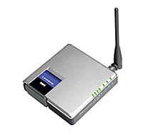 produkt-foto van 'Linksys Wireless Kabel / DSL Router (wifi - 11g - Compact)'