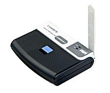 produkt-foto van 'Linksys Wireless stick met Rangebooster (usb - 11g)'
