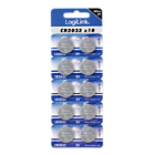 produkt-foto van 'cr2032 - Knoopcel batterij LogiLink, 3v, 230mAh, per 10 verpakt'