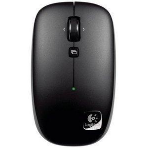 produkt-foto van 'Logitech Optical Laptop muis (draadloos v550 nano - zwart)'
