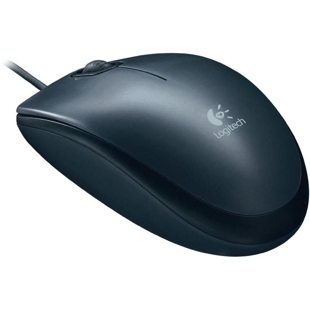 produkt-foto van 'Logitech Optical muis - m90, 3-knoppen, zwart, 800dpi'