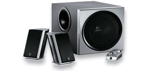 produkt-foto van 'Logitech speakerset 2.1 (z-2300 - zwart)'