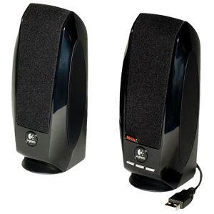 produkt-foto van 'Logitech Speakerset - s-150, 2.0, 1.2w rms, zwart'