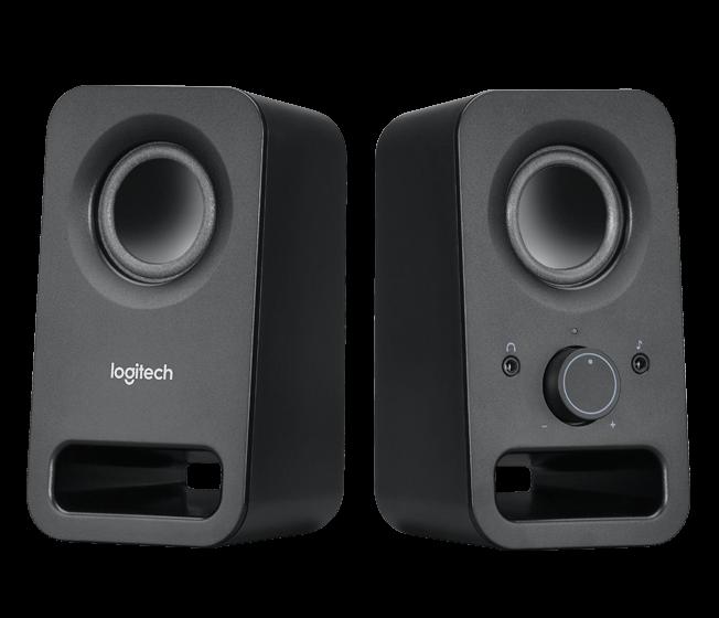 produkt-foto van 'Logitech Speakerset - z-150, 2.0, 1.2w Rms'