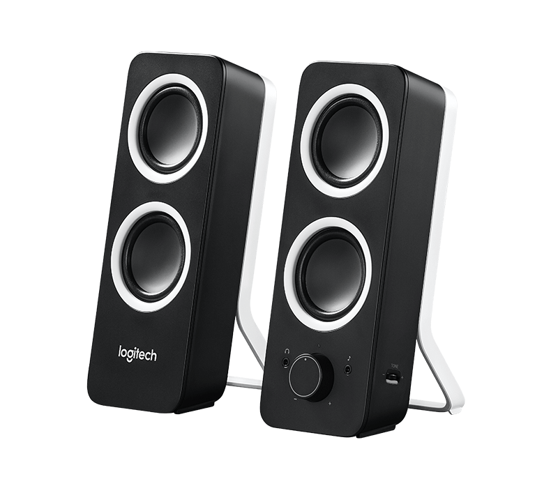 produkt-foto van 'Logitech Speakerset - z200, 2.0, 10w Rms, Midnight Black'