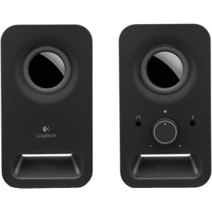 produkt-foto van 'Logitech Speakerset- z-150, 2.0, ipod support, zwart'