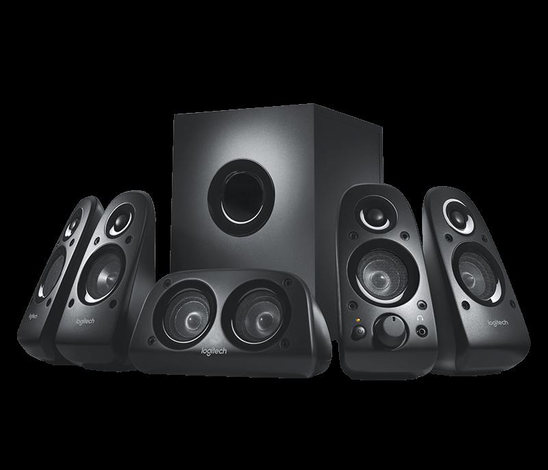 produkt-foto van 'Logitech Speakerset 5.1 - z506, luidsprekers 5+1, 10w rms, zwart'