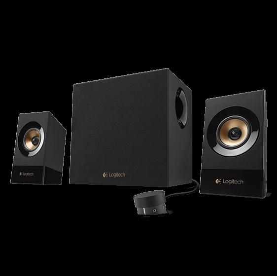 produkt-foto van 'Logitech Speakerset 2.1 - z533, luidsprekers 2+1, 60w rms, zwart'