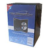 produkt-foto van 'MediaPack DVD-doosje - voor 1 dvd, zwart, per 10 doosjes'