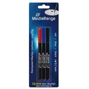 produkt-foto van 'CD-pennenset 3 kleuren - zwart, rood & blauw'