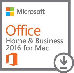 produkt-foto van 'Microsoft Office 2016 Thuis & Bedrijf NL - voor 1 mac, download, certificaat'
