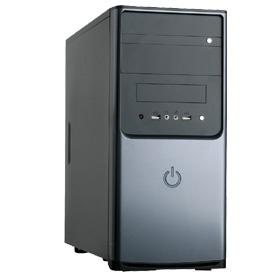 produkt-foto van 'MS-Tech lc-09b midi-tower (430w voeding - zwart)'