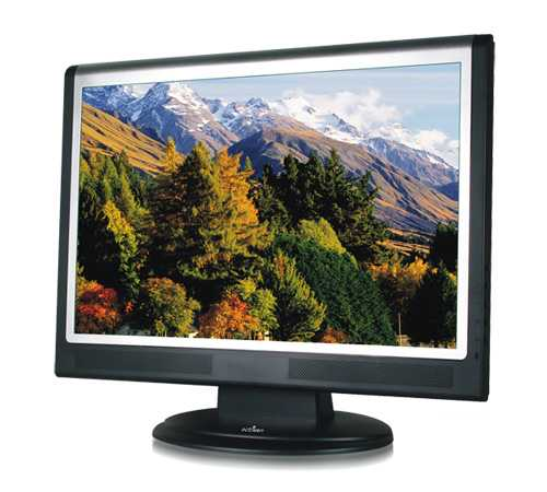 """produkt-foto van 'Octigen 19"""" TFT scherm (breedbeeld=1440x900 - 8ms - zil/zw)'"""