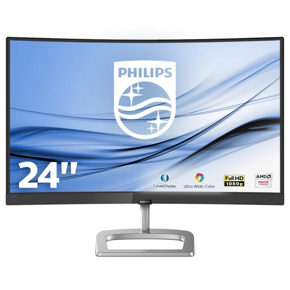 """produkt-foto van 'Philips beeldscherm - Curved 24"""", IPS, Full HD = 1920x1080, hdmi, zwart'"""