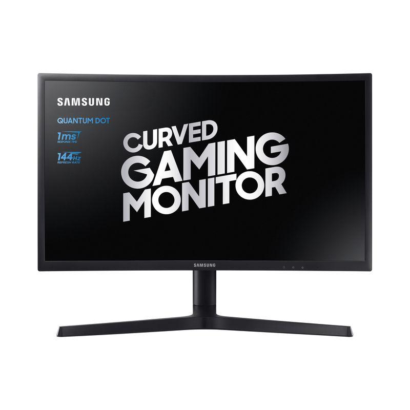 "produkt-foto van 'Samsung beeldscherm - Curved 24"", Gaming, Full HD = 1920x1080, hdmi, zwart'"