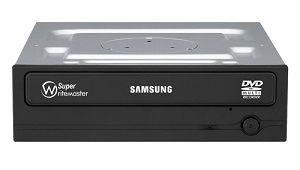 produkt-foto van 'Samsung DVD-brander - sata, 24x, zwart, oem'