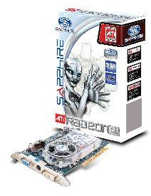 produkt-foto van 'Sapphire 256mb VGA kaart (ATI x1650pro - AGP 8x - DVI)'