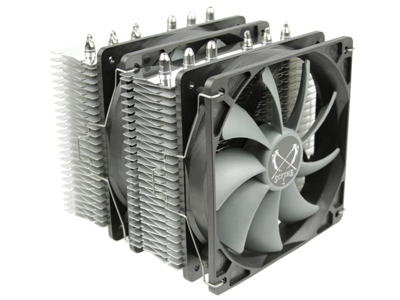 produkt-foto van 'Scythe Fuma Rev. B cpu cooler, scfm-1100'