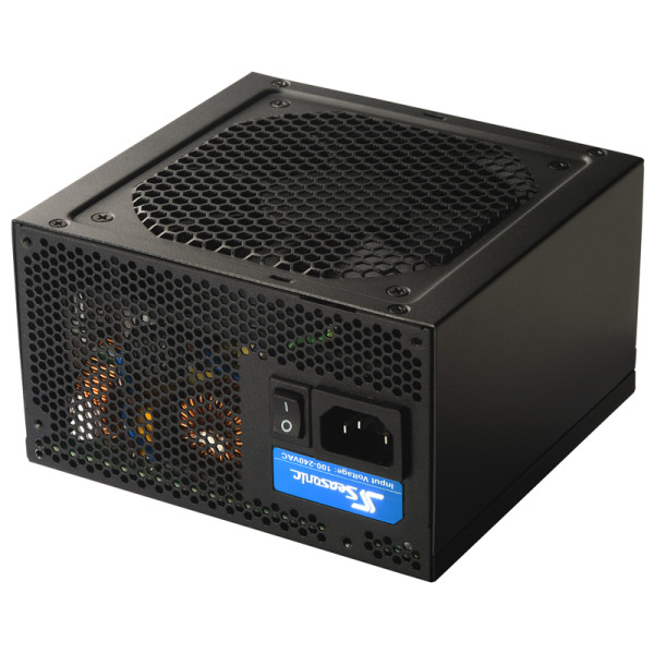 produkt-foto van 'Seasonic 520 Watt voeding - s12ii, FDB fan 12cm, 20/24 pin'