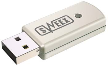 produkt-foto van 'Sweex Bluetooth dongle USB (Klasse I)'