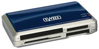 produkt-foto van 'Sweex Cardreader 30 in 1 (Extern - USB 2.0)'