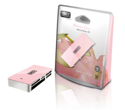 produkt-foto van 'Sweex Cardreader MULTI (Extern - usb - Pitaya Pink)'