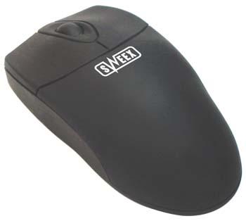 produkt-foto van 'Sweex Optical muis (zwart - PS/2)'