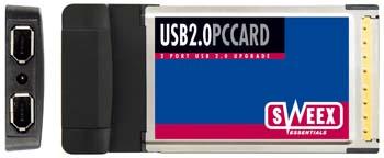 produkt-foto van 'Sweex USB 2.0 kaart II (PCMCIA)'