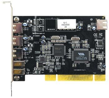 produkt-foto van 'Sweex USB 2.0 & FireWire kaart'