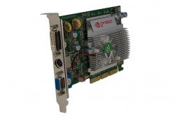 produkt-foto van 'Sweex fx5500 video-kaart (agp - 256mb - niet voor Window 7)'
